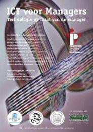 ICT voor Managers - IVPV - Instituut voor Permanente Vorming