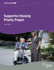 Supportive Housing Priority Project - Central East Local Health ...