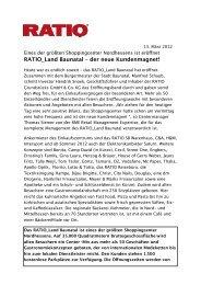 RATIO_Land Baunatal – der neue Kundenmagnet! - Ratio Land