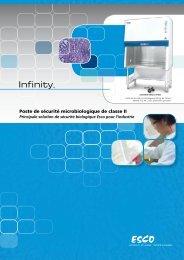 Poste de sécurité microbiologique de classe II - Esco