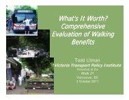 Comprehensive Evaluation of Walking Benefits PDF - Walk21