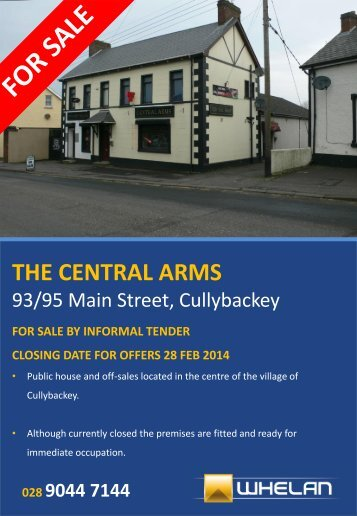 THE CENTRAL ARMS - Whelan
