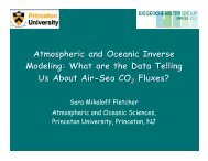 Download (pdf) - Atmospheric and Oceanic Sciences - Princeton ...