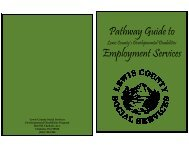 2008 Pathway Guide to Lewis County's Developmental Disabilities ...