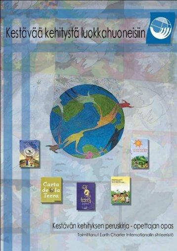 Kestävän kehityksen peruskirja - Earth Charter Initiative