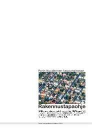 Rakennustapaohje - Pori