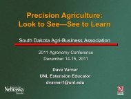 Precision Agriculture: Look to See—See to Learn - South Dakota ...