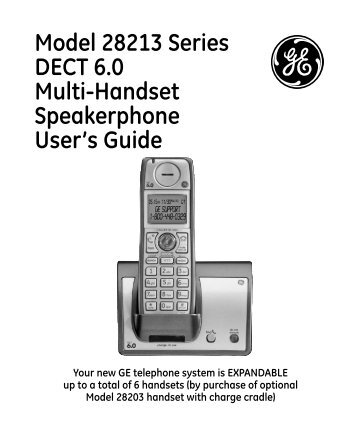ge dect 60 manual best user guides and manuals u2022 rh raviteja co Cordless Wall Phones Cell Phone