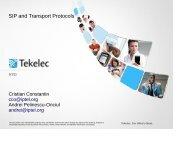 SIP and Transport Protocols - Kamailio