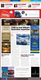 A380 to lead Etihad's Australian expansion - Travel Daily Media
