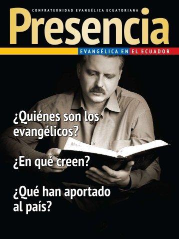 Revista PRESENCIA - 2010 - Prolades.com