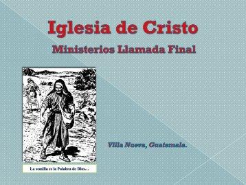 Las batallas.pdf - IGLESIA DE CRISTO - Ministerios Llamada Final ...
