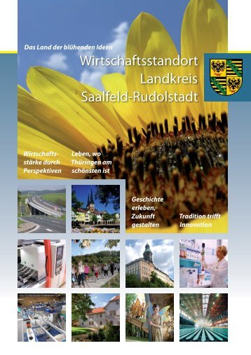 Standortfaktoren - Landkreis Saalfeld-Rudolstadt