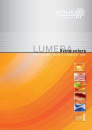 Lumera brochure - Sattler AG
