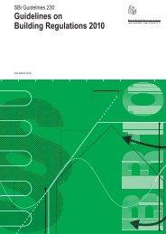 Guidelines on Building Regulations 2010 - Byggecentrum