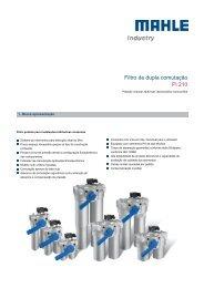 Filtro de dupla comutação Pi 210 - MAHLE Industry - Filtration