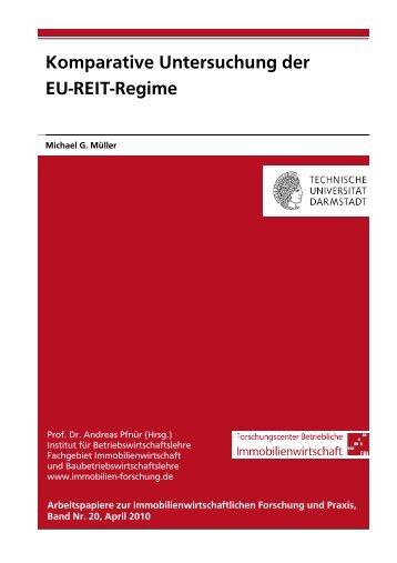 Komparative Untersuchung der EU-REIT-Regime - Technische ...