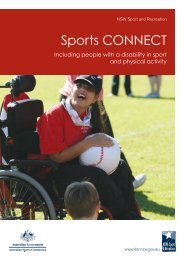 Sports Connect - NSW Sport and Recreation