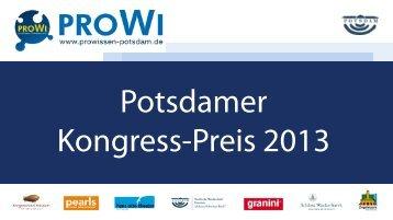 Präsentation der Teilnehmer 2013 - wis-potsdam.de