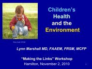 Children - Canadian Environmental Law Association