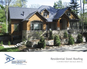 Residential Steel Roofing - Agway Metals Inc