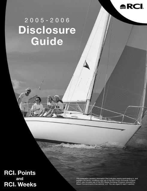 Disclosure Guide Rci Com