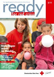 ready for red cross? - Schweizerisches Rotes Kreuz