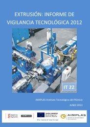 extrusión: informe de vigilancia tecnológica 2012 - Observatorio del ...