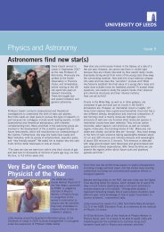 Physics Newsletter Feb 08:Middle East News Letter - School of ...