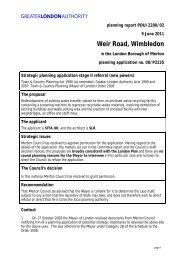 Weir Road, Wimbledon - Greater London Authority