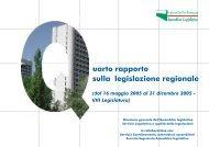 Quarto Rapporto sulla legislazione della Regione Emilia-Romagna
