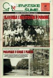 HRVATSKE ŠUME 38 (10.8.1994.)