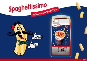 Auf Knopfdruck frische Pasta - Spaghettissimo