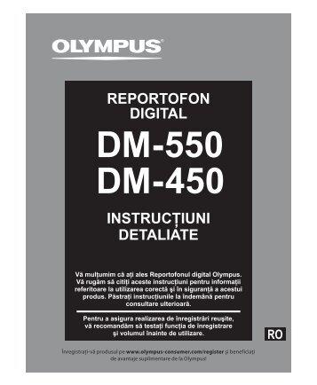 Despre înregistrare - Olympus