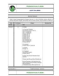 prosedur kualiti umum audit dalaman prosedur ... - JPBD Selangor