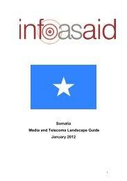 media landscape guide about Somalia - Internews