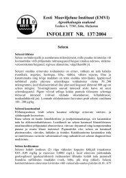 Seleen - Eesti Maaviljeluse Instituut