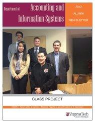 2012 - ACIS   Pamplin   Virginia Tech