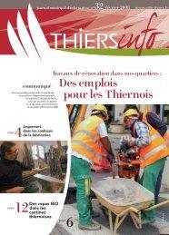 Thiers Info n°32 février 2008