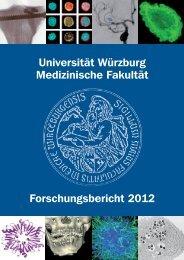 Forschungsbericht 2012 - Frauenklinik - Universität Würzburg