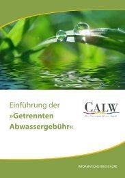 Einführung der »Getrennten Abwassergebühr«