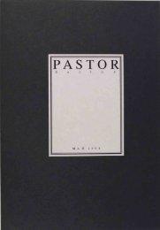 Пастор 4 (избранные материалы) - Московский концептуализм