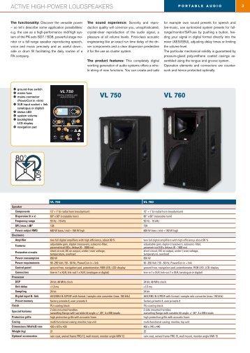 VL 750 VL 760 - KME