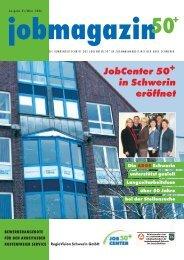 JobCenter 50+ in Schwerin eröffnet + - RegioVision GmbH Schwerin