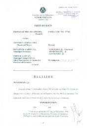 Crim Case/s 27784 - People vs. Fernandez et al - Sandiganbayan