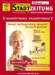 Download gesamte Ausgabe (PDF, 12328 kb) - Regensburger ...