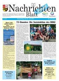 Nachrichtenblatt Nr. 25 vom 20. Juni 2013 - Verbandsgemeinde ...