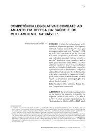 competência legislativa e combate ao amianto em ... - eGov UFSC