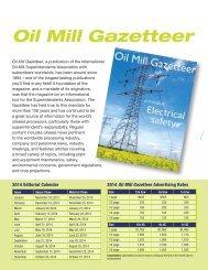 Advertising Info - International Oil Mill Superintendents Association