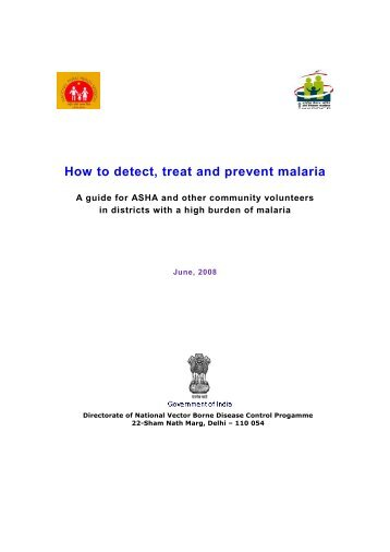 How to detect, treat and prevent malaria - NVBDCP